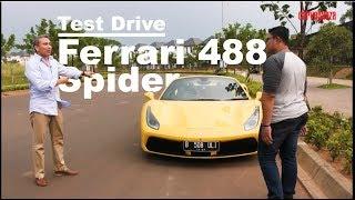 Ferrari 488 Spider test drive | CARVAGANZA