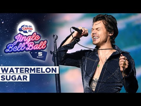 Harry Styles - Watermelon Sugar (Live at Capital's Jingle Bell Ball 2019)   Capital
