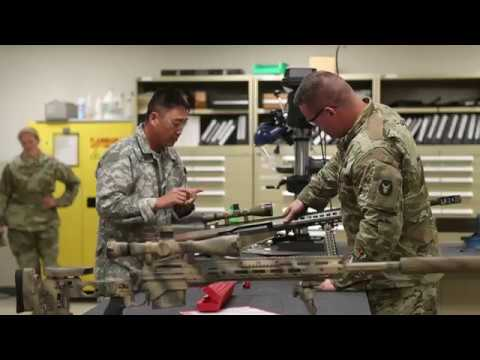 Learn about MOS 91F: Small Arms/Artillery Repairer