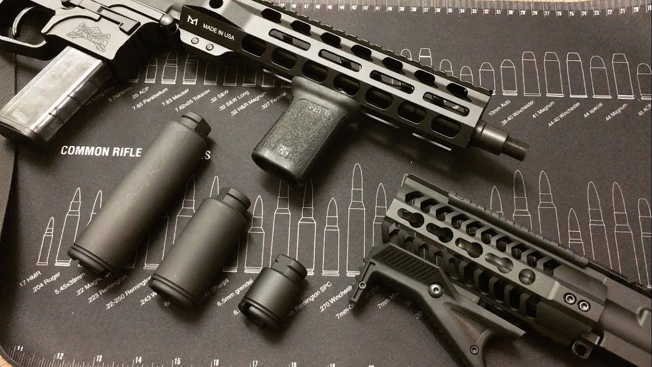 300 Blackout Upper With Flash Can