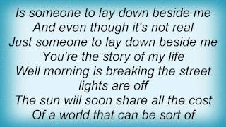 Karla Bonoff - Someone To Lay Down Beside Me Lyrics