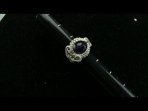 Wire Wrapped Cabochon Ring Tutorial