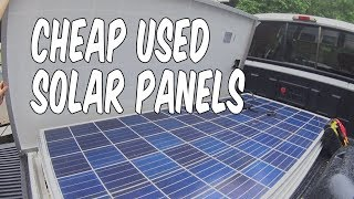 Cheap Solar Panels for My Trailer-able Houseboat