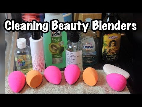 How to Clean Your Beauty Blender Sponges| PrettyPRChickTV
