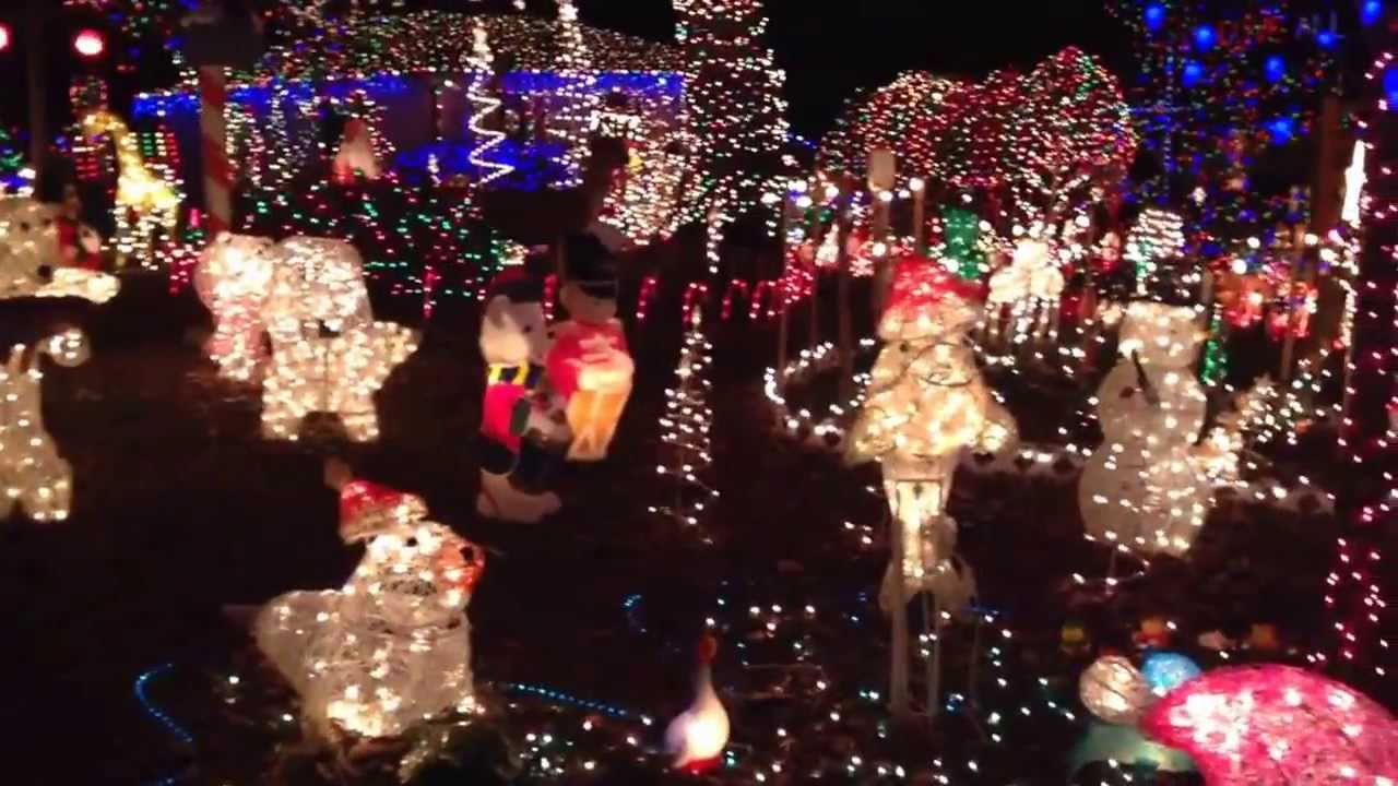 Charming Phifer House Christmas Lights Display. Richmond, VA   YouTube