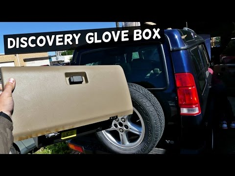 LAND ROVER DISCOVERY GLOVE BOX REMOVAL REPLACEMENT