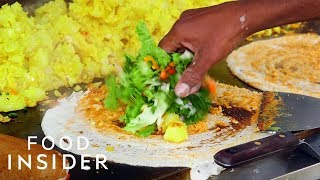 Food Cart Serves Up The Best Dosas In NYC | Legendary Eats