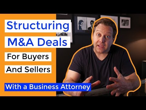 Merger & Acquistion (M&A) Deal Structures Explained