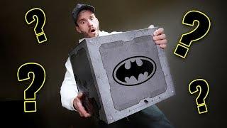 MYSTERIOUS BATMAN BOX!! Mattel Toys Unboxing
