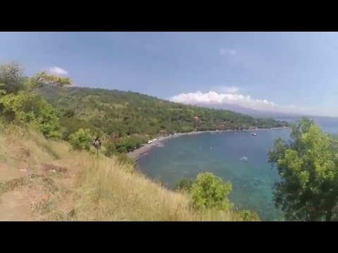 Bali - Amed - day 1: snorkeling, view point