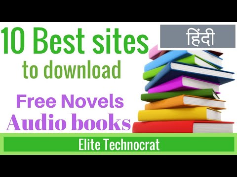 10 Best Sites To Download Novel For Free And Audio Books For Free In Hindi