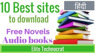 Gambar cover 10 Best sites to download novel for free and audio books for free in hindi