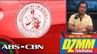 DZMM TeleRadyo: Aguirre denies hand in P65.7-M fund transfers during DOJ stint