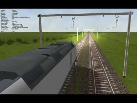 MSTS Open Rail Belgium testdrive BR 285