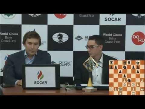 Baku Grand Prix-Karjakin v Caruana #347-Round 1