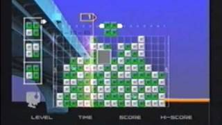 Lumines Plus (PS2) Gameplay