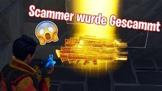 SCAMMER WURDE GESCAMMT!!! DÜMMSTER SCAMMER.. | Fortnite