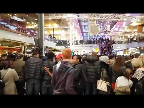 Boxing day @ Westfield Stratford East London.