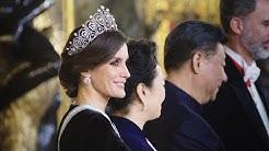 Beruf: Königin! Letizia von Spanien / Ocupación: Reina! Letizia de España