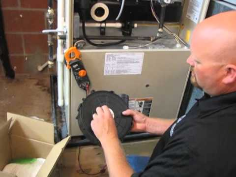 Diy How To Install A 68k21 Draft Inducer On A Lennox G26