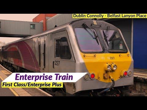 Ireland's Enterprise Train In First Class/Enterprise Plus | Dublin To Belfast