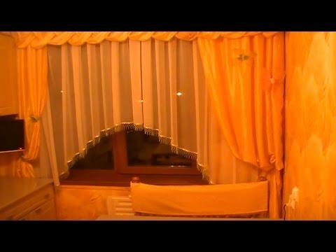 Как сшить штору арку на кухню своими руками видео