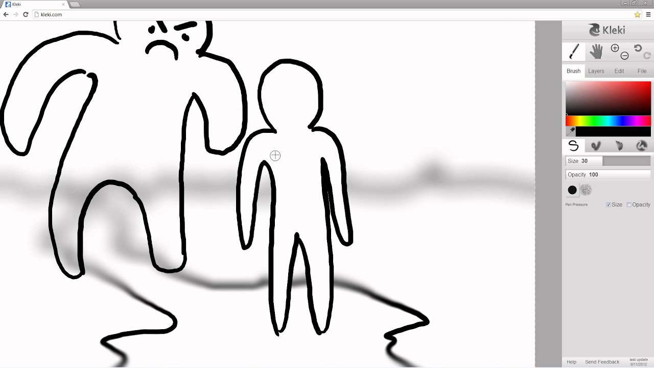Kleki Tutorial A Drawing With Depth Of Field Youtube When you reopen kleki at a later time, it will automatically load the image. kleki tutorial a drawing with depth of field