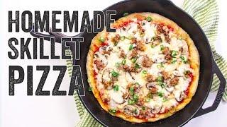 Homemade Skillet Pizza Recipe : Season 2, Ep. 15 - Chef Julie Yoon