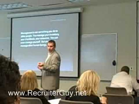 RecruiterGuy - Sumser's Dallas Recruiting Roadshow
