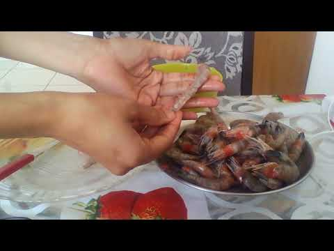 clean prawns quickly and easiest  way