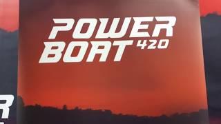 POWERBOAT 420 на выставке в Риге 2019