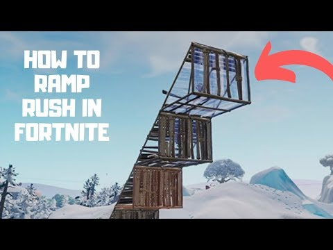 HOW TO: Ramp Rush on console (Fortnite Battle Royale)