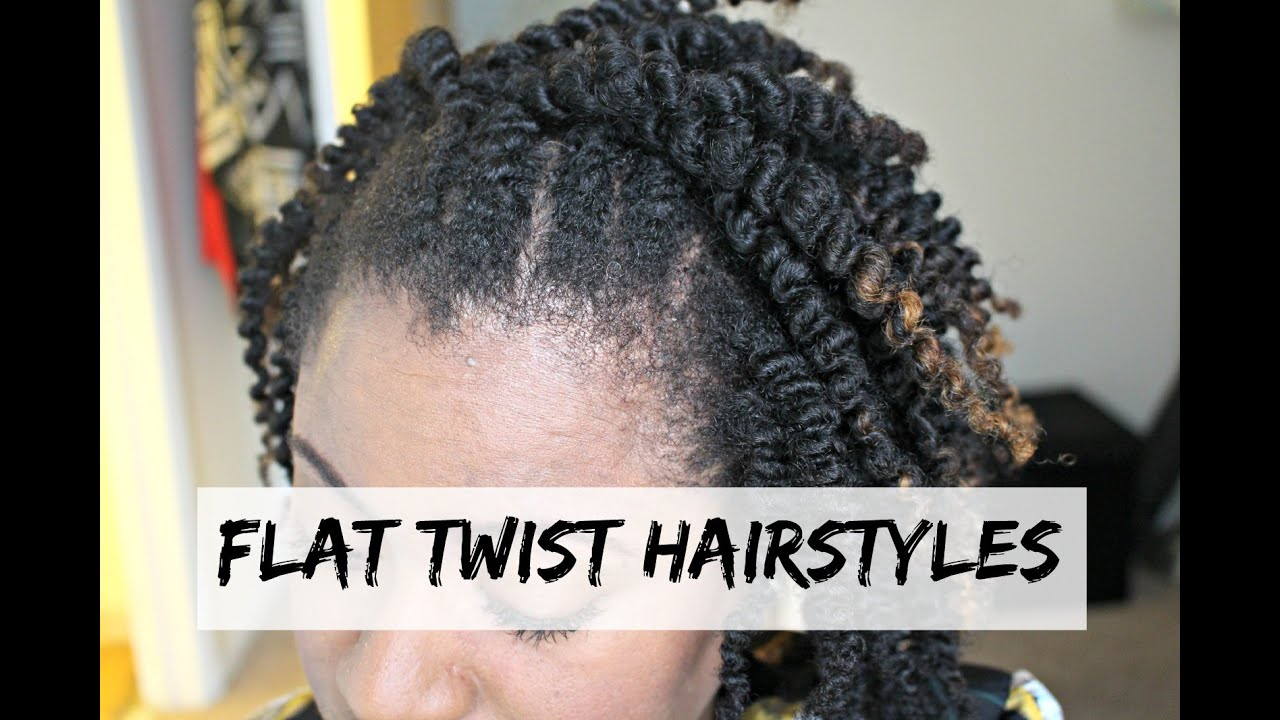 natural hair twist styles youtube flat twist hairstyles on hair tutorial 4086 | maxresdefault