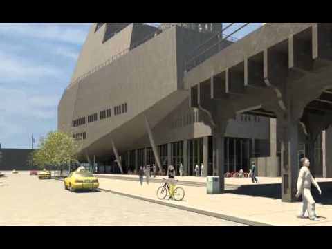 Whitney Downtown Museum Animation