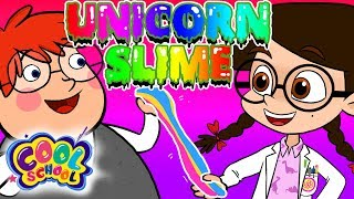 DIY Glitter Unicorn Slime! | The Nikki Show at Cool School