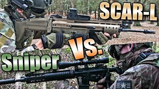 SCAR-L VS. SNIPER!! | Wasteland Ops Airsoft | Part 3: Ep. 2 - VFC SCAR-L Gameplay