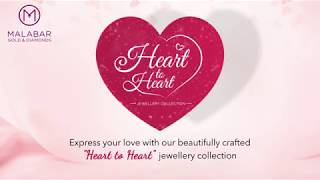 'Heart to Heart' collection by Malabar Gold and Diamonds.