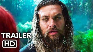 AQUAMAN Trailer # 2 (NEW 2018) Jason Momoa, Superhelden-Film HD
