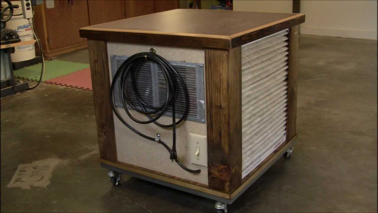 Diy Simple Woodshop Air Filtration System Youtube - Air Filtration System