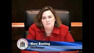 Special Message from City Manager Mary Bunting