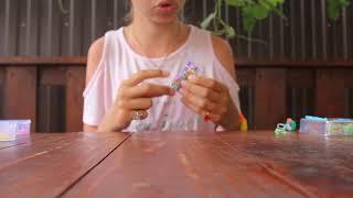 уроки плетения из резиночек. урок 5. браслет