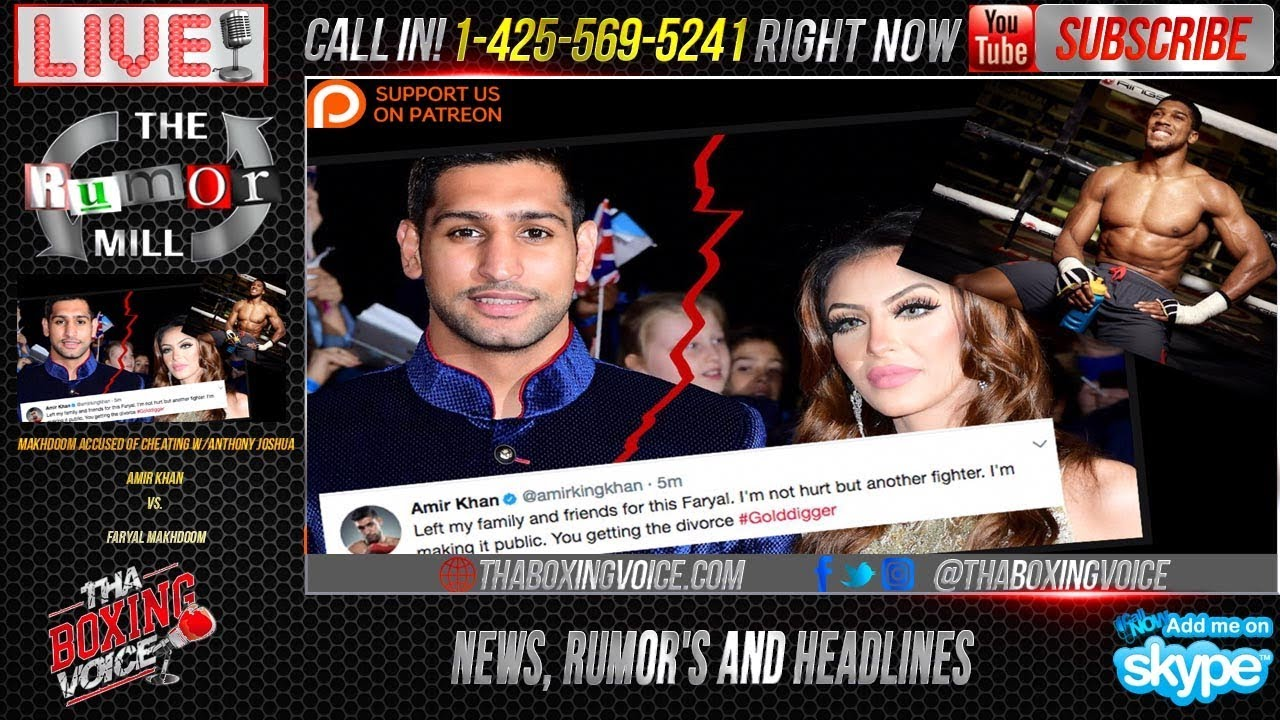 amir khan divorcing faryal makhdoom accuses her of cheating with
