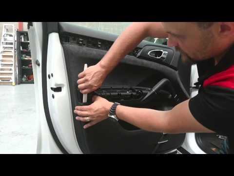2015 Porsche Cayenne Door Trim Removal