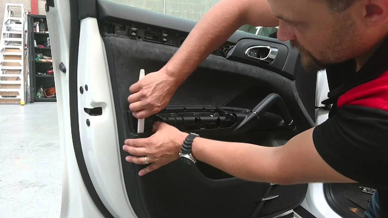 2015 Porsche Cayenne Door Trim Removal Youtube