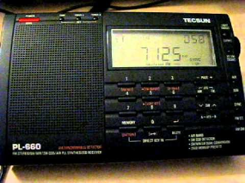 Radio Conakry 7125 kHz. 12.7.2011.