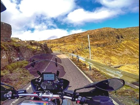 Scotland by BMW R1200GS Part 3 - Shiel Bridge to Ullapool on the North Coast 500