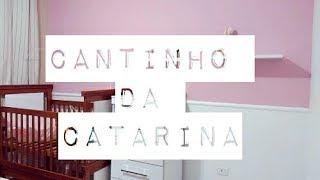 VLOG DA REFORMA DO CANTINHO DA CATARINA | QUARTO COMPARTILHADO | Deise Nascimento ♥