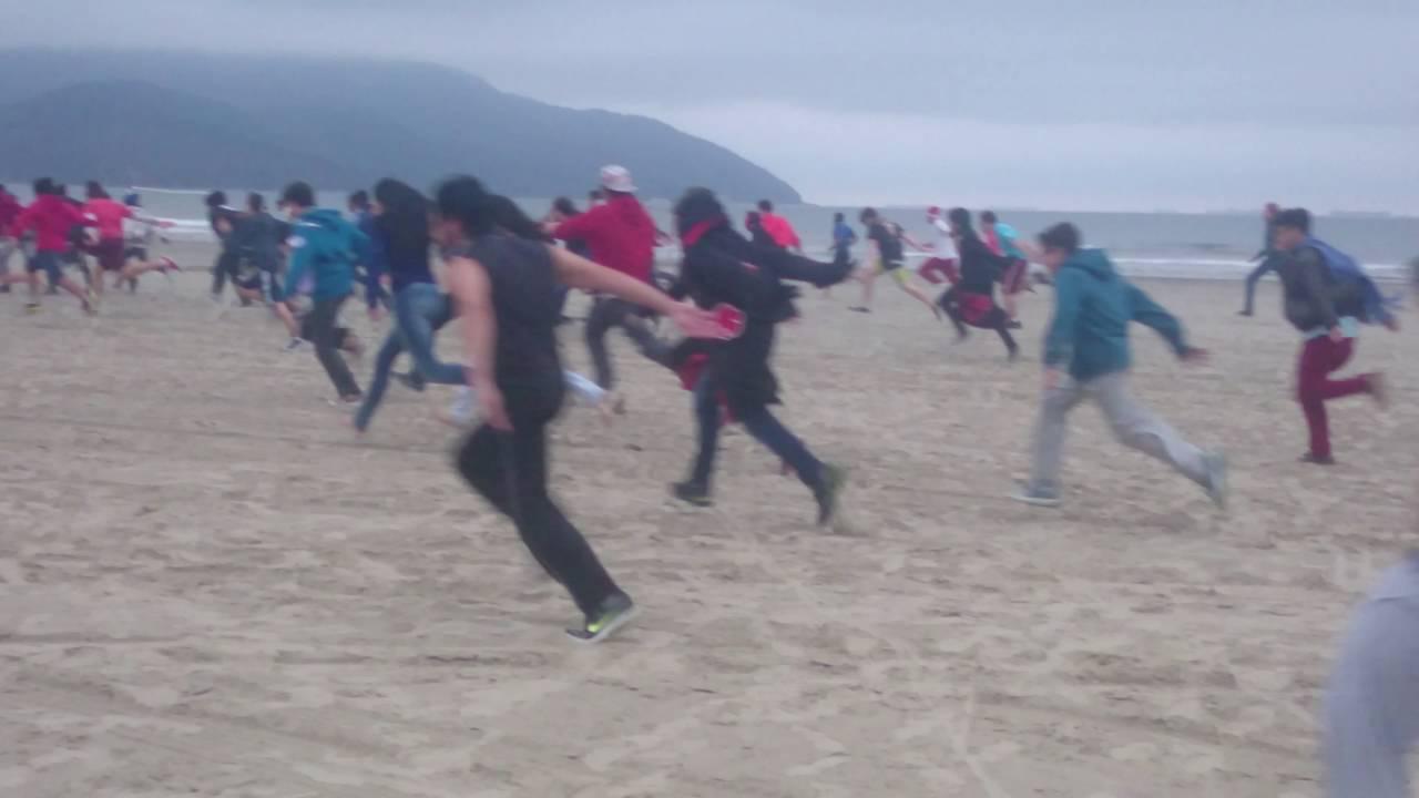 Naruto beach run em vila oculta de santos youtube for 5 principales villas ocultas naruto