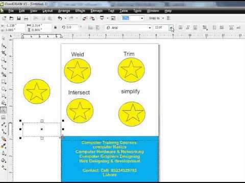 Corel Draw X5 Tutorial In Hindi - Corel Draw Tutor