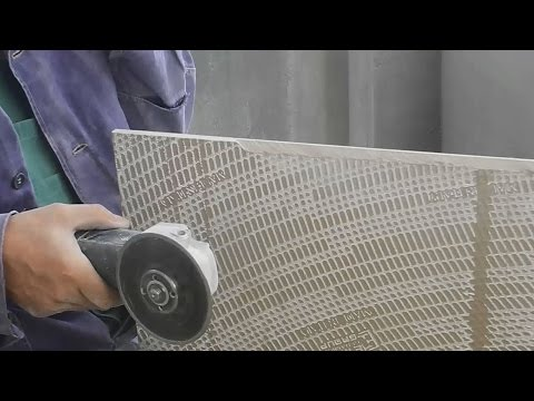 Как срезать край плитки,на угол под 45°